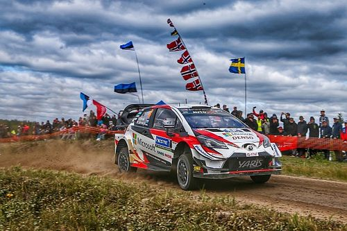 Finland WRC: Tanak pulls clear as teammates stumble
