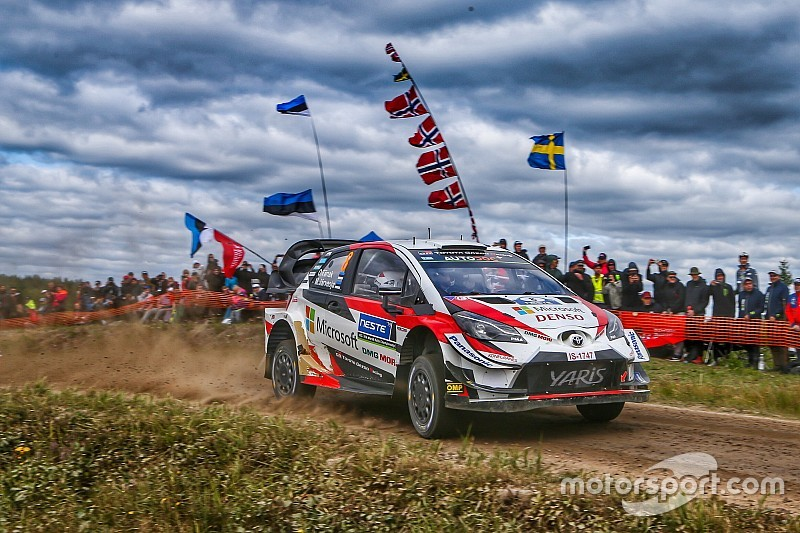 Finland WRC: Tanak pulls clear as teammates stumble