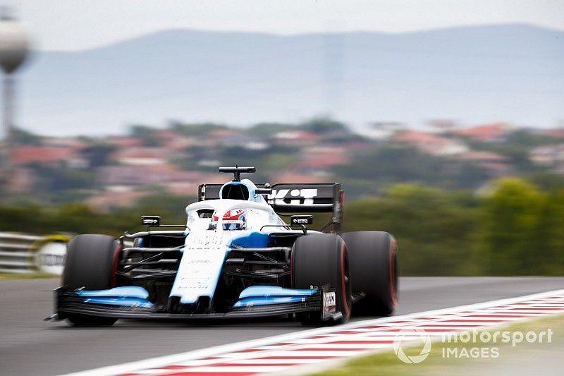 """Le 16e temps de Russell, """"comme un tour de pole"""" pour Williams"""