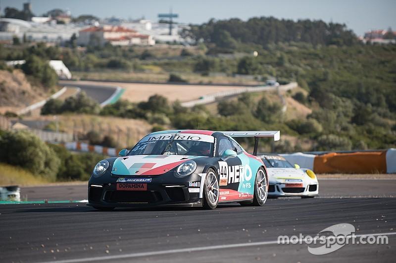 Bruno Baptista é o mais rápido do dia em treino oficial da Porsche Cup em Estoril