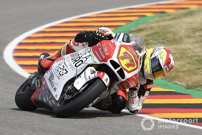 Diaporama : le Suisses Aegerter, Lüthi et Forward Racing au GP d'Allemagne
