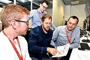 Vettel si chiarisce con Binotto prima di andare al simulatore