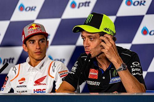 Pour Rossi, Márquez est à son meilleur niveau