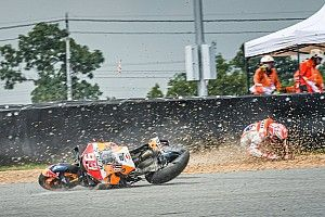 Marquez taken to hospital after FP1 crash