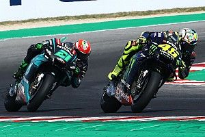 """Morbidelli: First podium because of """"big brother"""" Rossi"""