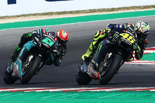 "Morbidelli: First podium because of ""big brother"" Rossi"