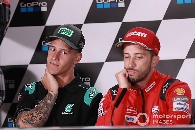 """Ducati : """"Nous n'avons fait aucune offre à Quartararo"""""""