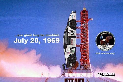 L'impresa dell'Apollo 11 rivivrà nella livrea di Magnus Racing!