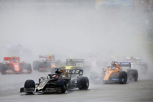 Fotogallery: lo svizzero Romain Grosjean nel Gran Premio di Germania