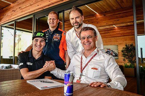 Leucona da el salto al equipo oficial de KTM en Moto2