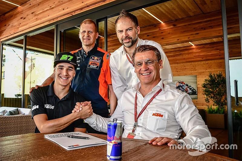 Lecuona da el salto al equipo oficial de KTM en Moto2