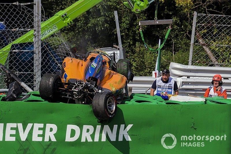 Crash Peroni: la FIA non cambierà approccio sui dissuasori