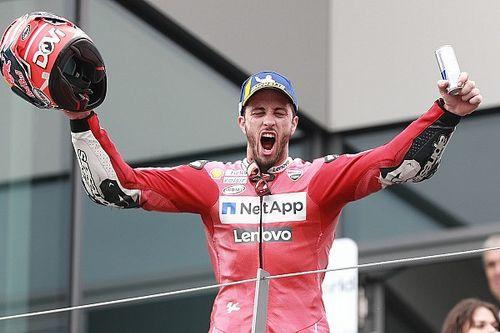 """Dovizioso: """"¿Un campeón? Yo no soy como un piloto que se lo escribe en el casco"""""""