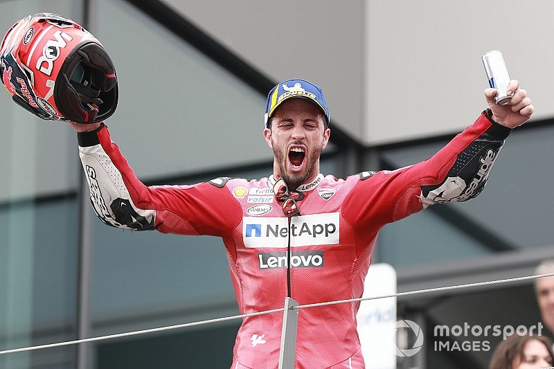MotoGP: Dovizioso aproveita elogio de Rossi para detonar Lorenzo