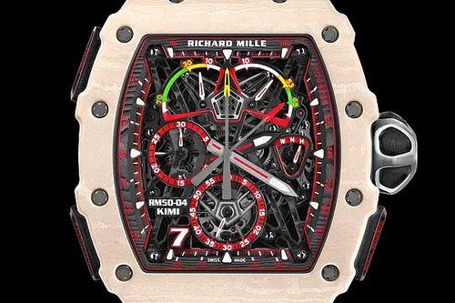 Bemutatkozott Kimi Räikkönen exkluzív Richard Mille órája: lenyűgöző
