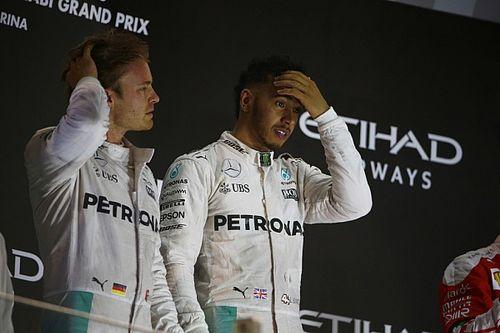 Hamilton kontra Rosberg: szinte már gyerekesen viselkedtek egymással
