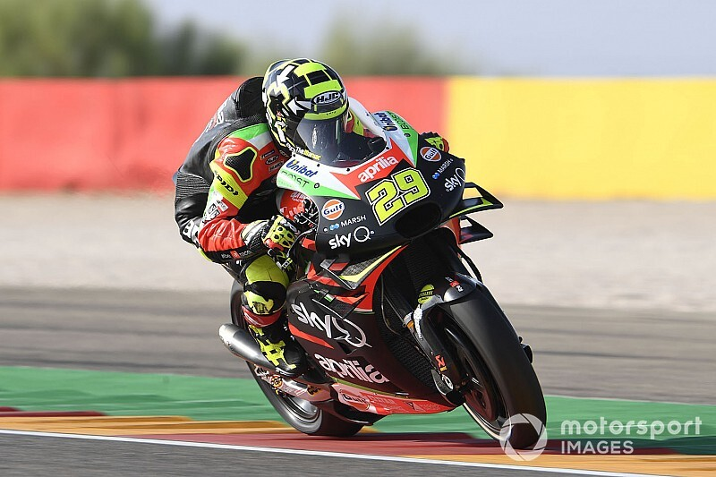 Iannone: All I want is equal machinery from Aprilia