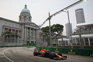 Онлайн. Гран При Сингапура: вторая тренировка