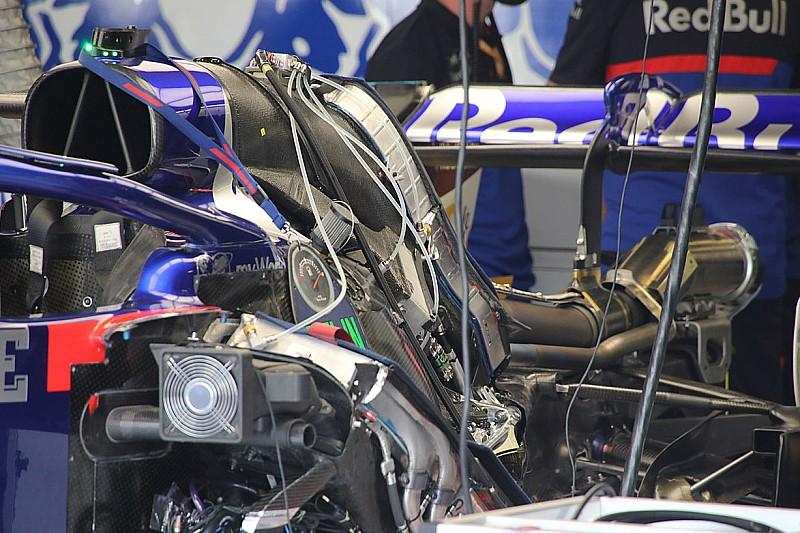 Formel-1-Technik: Detailfotos beim GP Italien