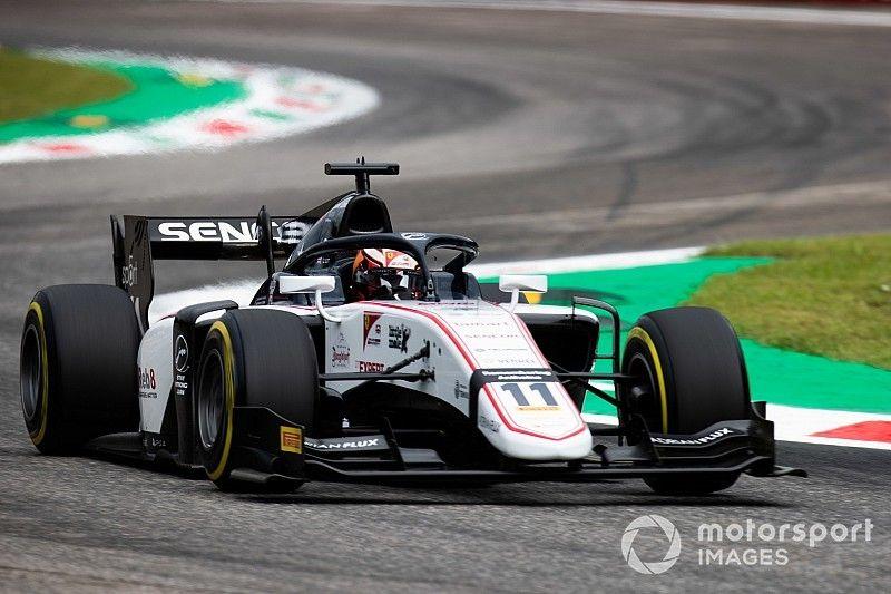 Monza F2: Ilott scores pole in sole Sauber entry