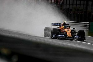 Fotogallery F1: pioggia protagonista nel venerdì di Monza