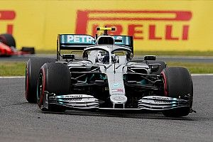 Bottas snelste in laatste training Japan, Verstappen sterk derde