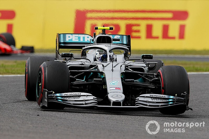 Bottas snelste in laatste training Japan, Verstappen sterk derde