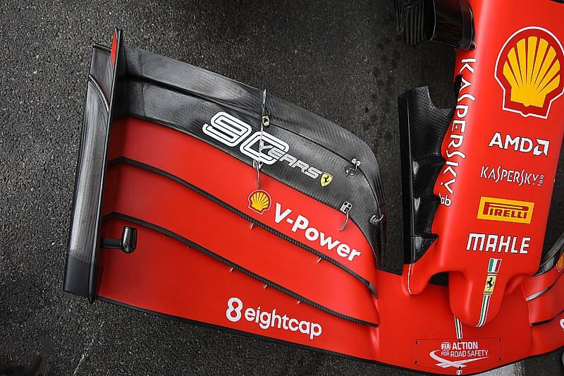 Összesített F1-es technikai képgaléria a Belga Nagydíjról