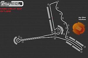越南大奖赛公布更新版赛道布局图