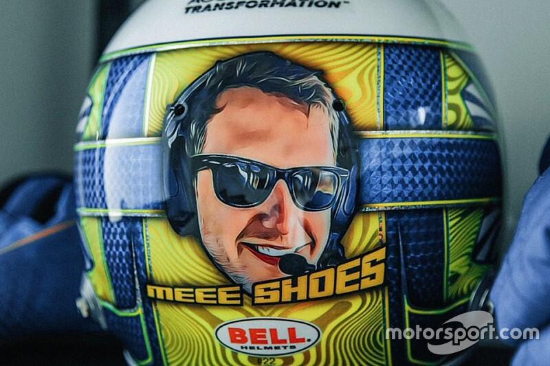 Норрис удивил гоночного инженера дизайном шлема