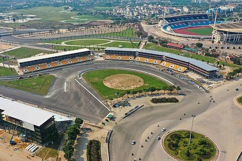 Le circuit de Hanoï est achevé pour le GP du Vietnam