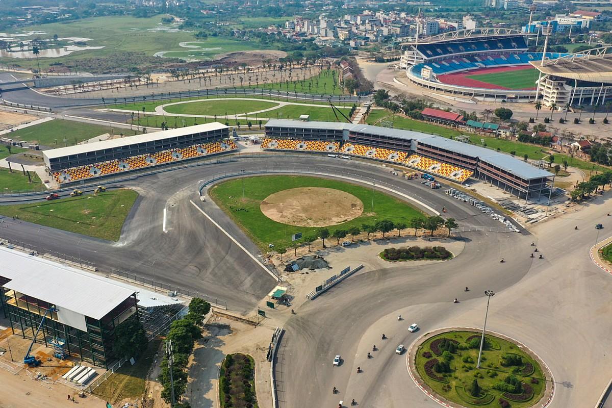 Latest Vietnam images released as track completed - Motorsport.com