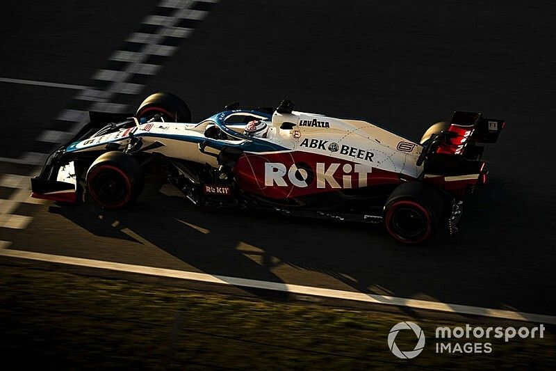 Latifi: Not all problems solved at Williams