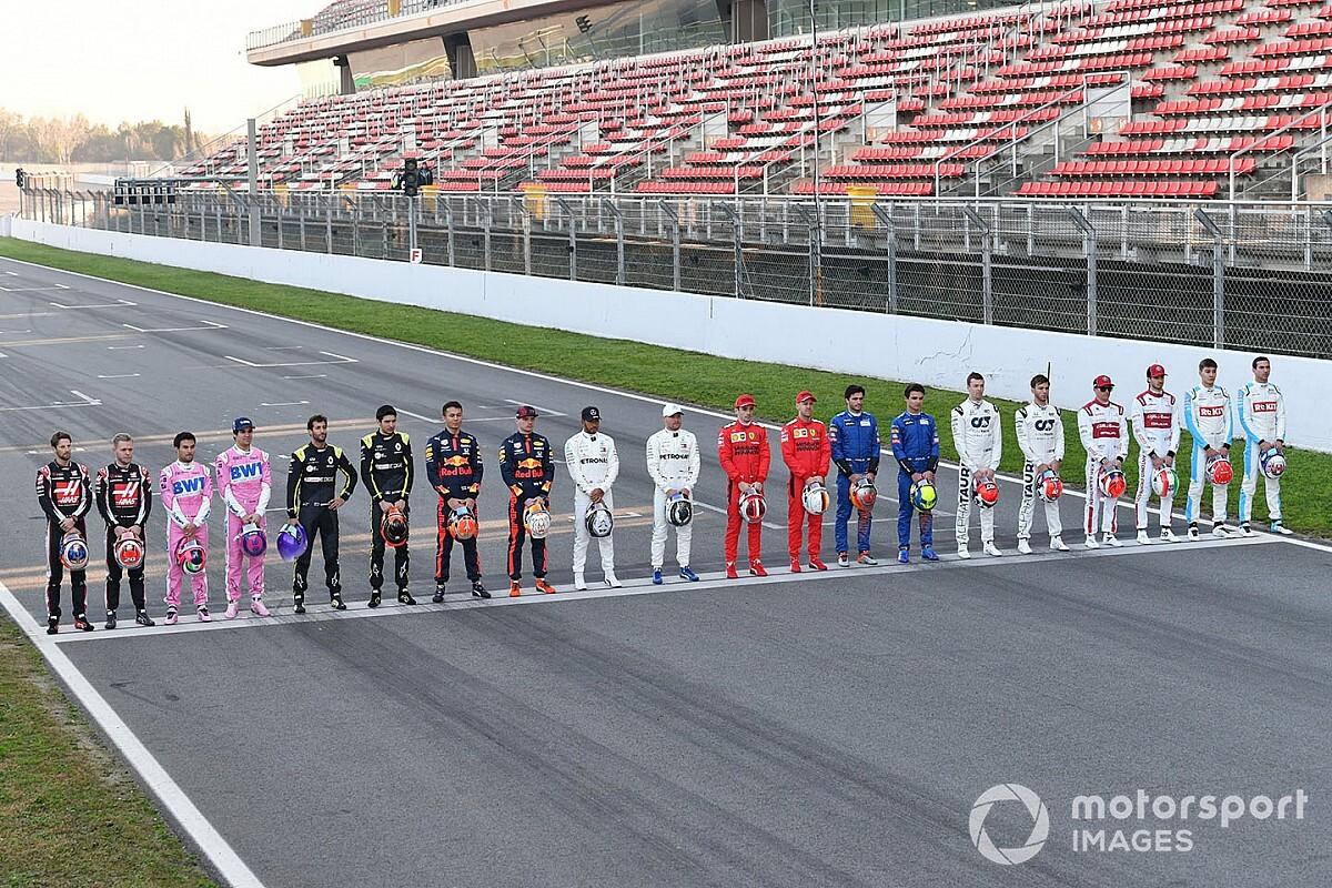 Test F1 2020: Alineaciones para la segunda semana