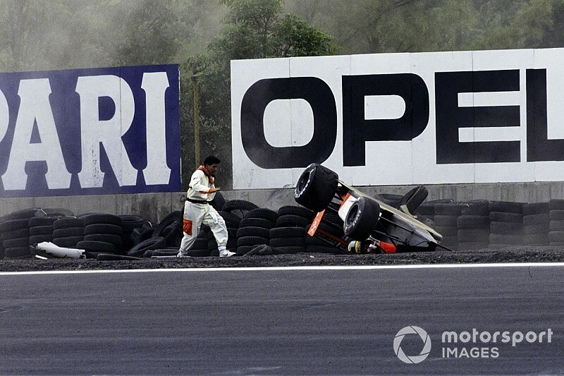 Acidente de Senna e primeiro pódio de Schumi; as curiosidades do GP do México
