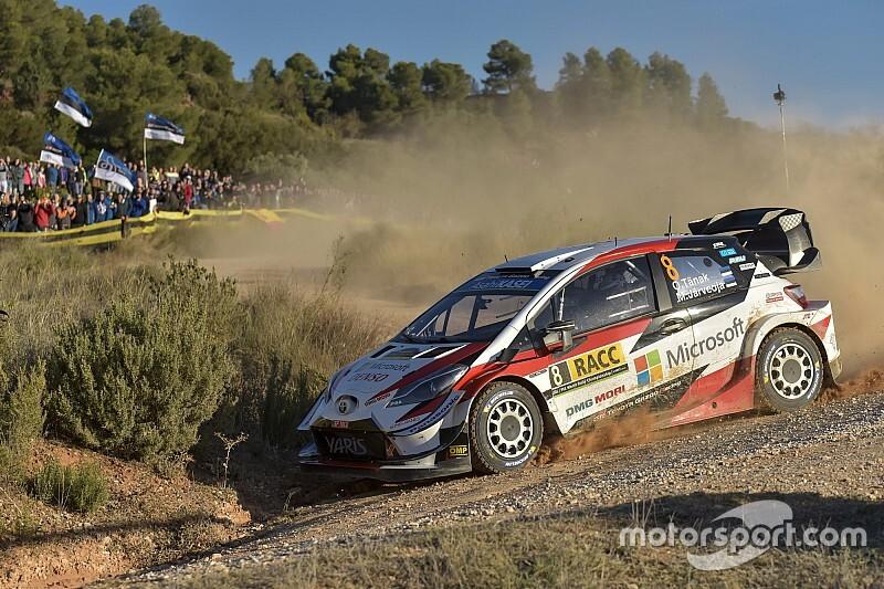 WRCラリー・スペイン:トヨタのタナク、パワーステージ激走。今季チャンピオンに輝く!