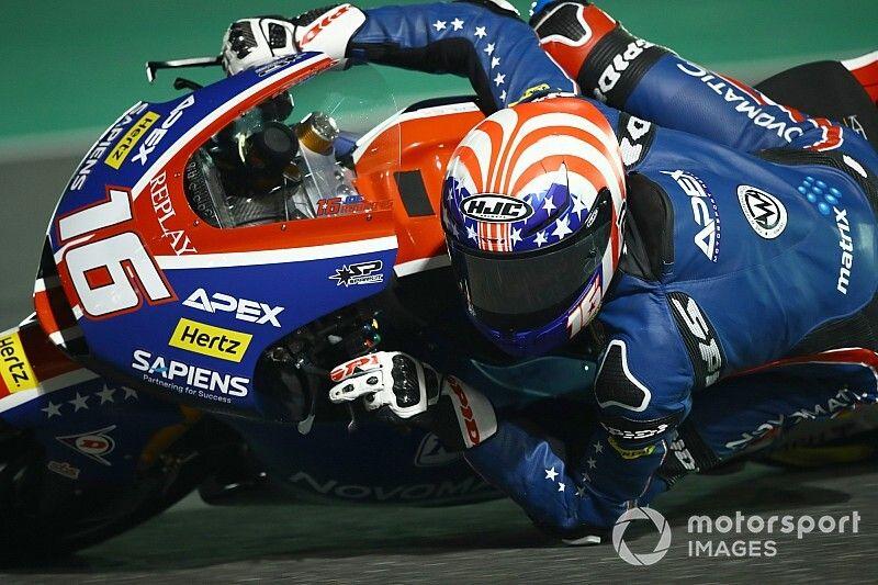 El nuevo 'marciano' de Moto2 se llama Roberts y logra la pole en Qatar