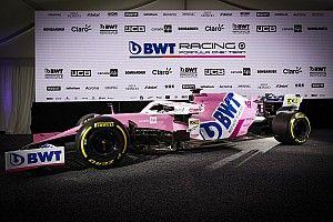 Racing Point se presenta con BWT como patrocinador principal