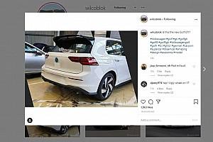 Lefényképezhették az új Volkswagen Golf GTI hátulját álca nélkül