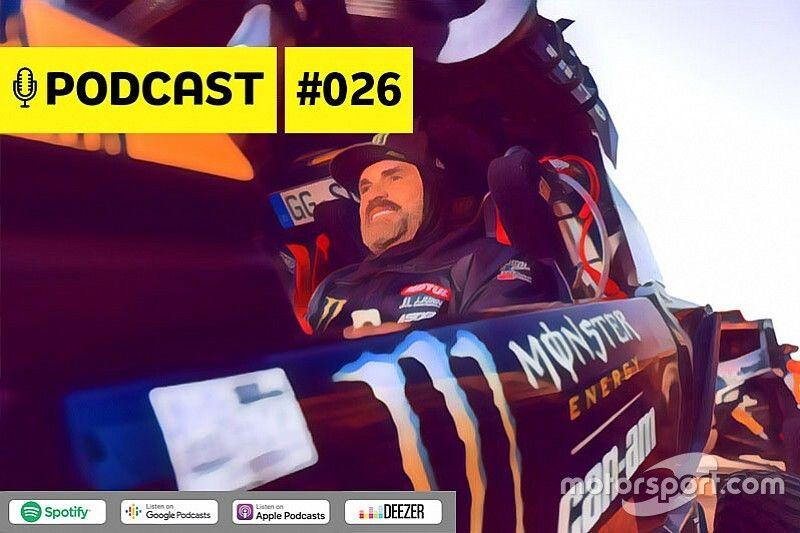 Podcast #026 – Campeão do Dakar revela perrengues do maior rali do mundo em 2020