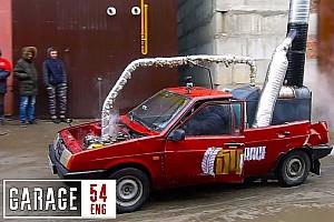 Videó: Ezúttal egy gőzhajtású Lada került elő Oroszországból
