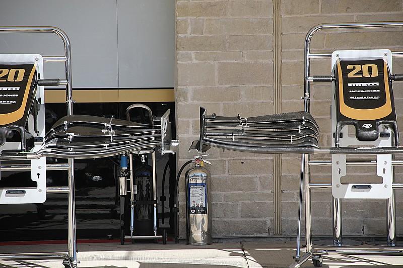 Haas: una nuova ala anteriore per l'effetto outwash