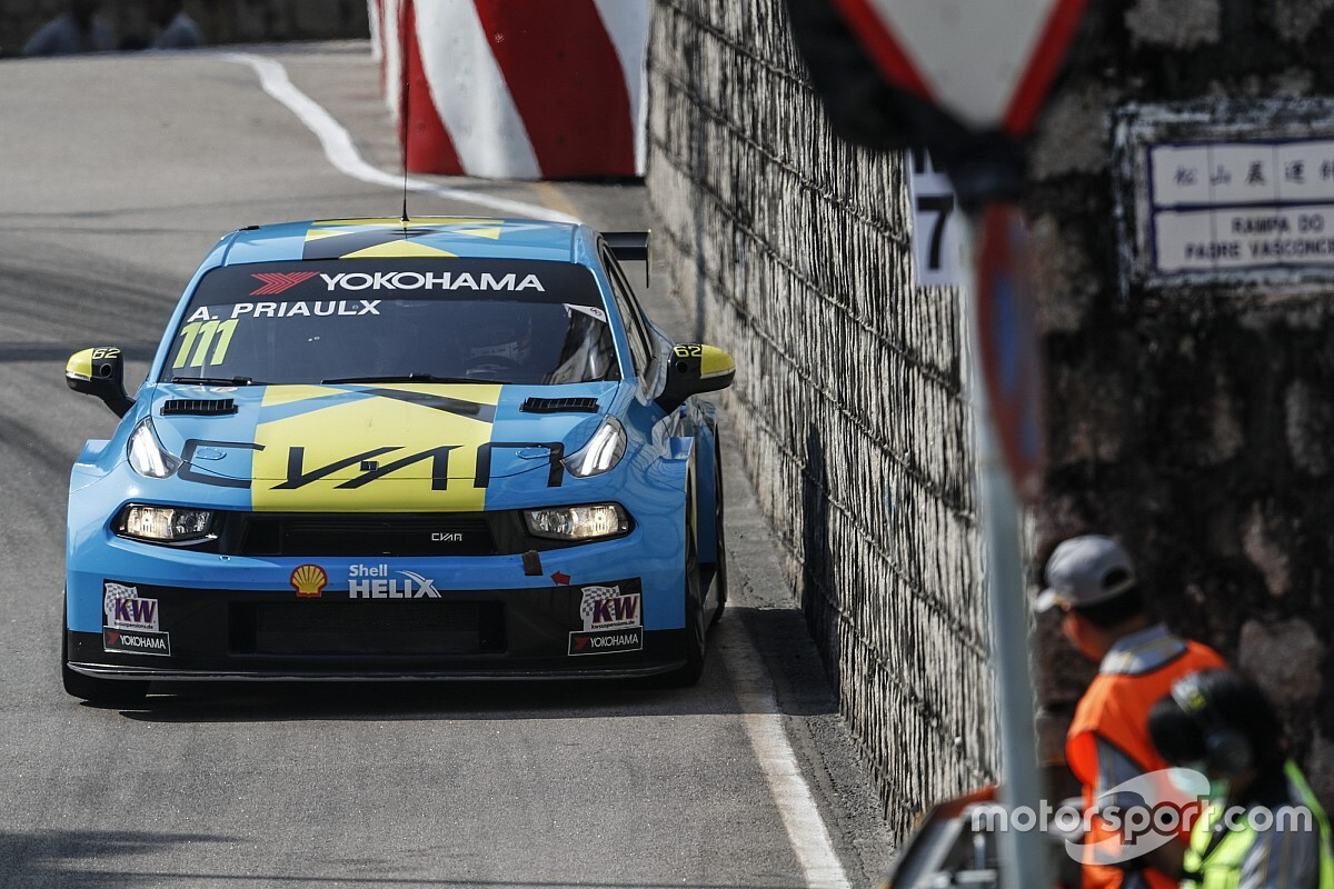 Macau WTCR: Priaulx completes Lynk & Co hat-trick