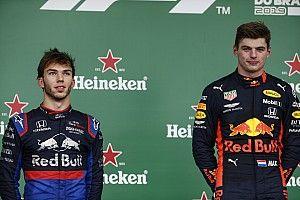 """Verstappen califica de """"increíble"""" el podio de Gasly"""