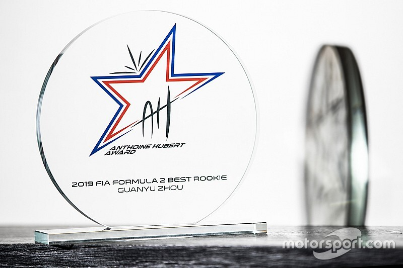 "Zhou wins ""emotional"" Anthoine Hubert F2 rookie award"