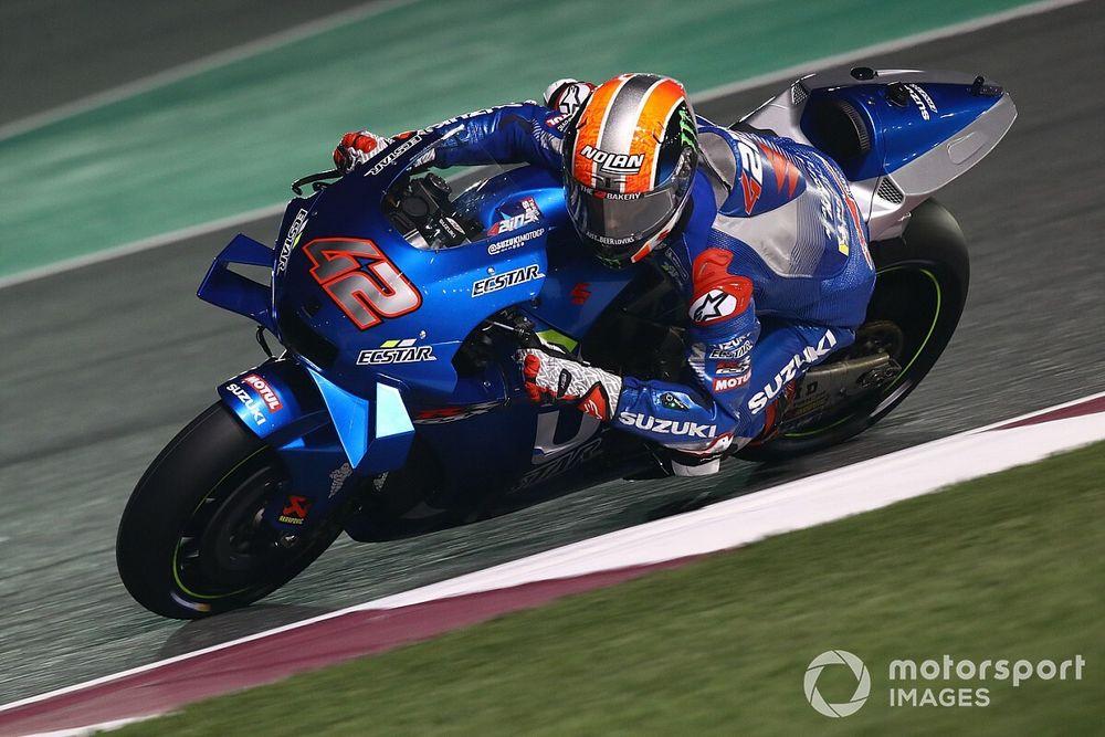 Rins admits Suzuki contract talks began last April