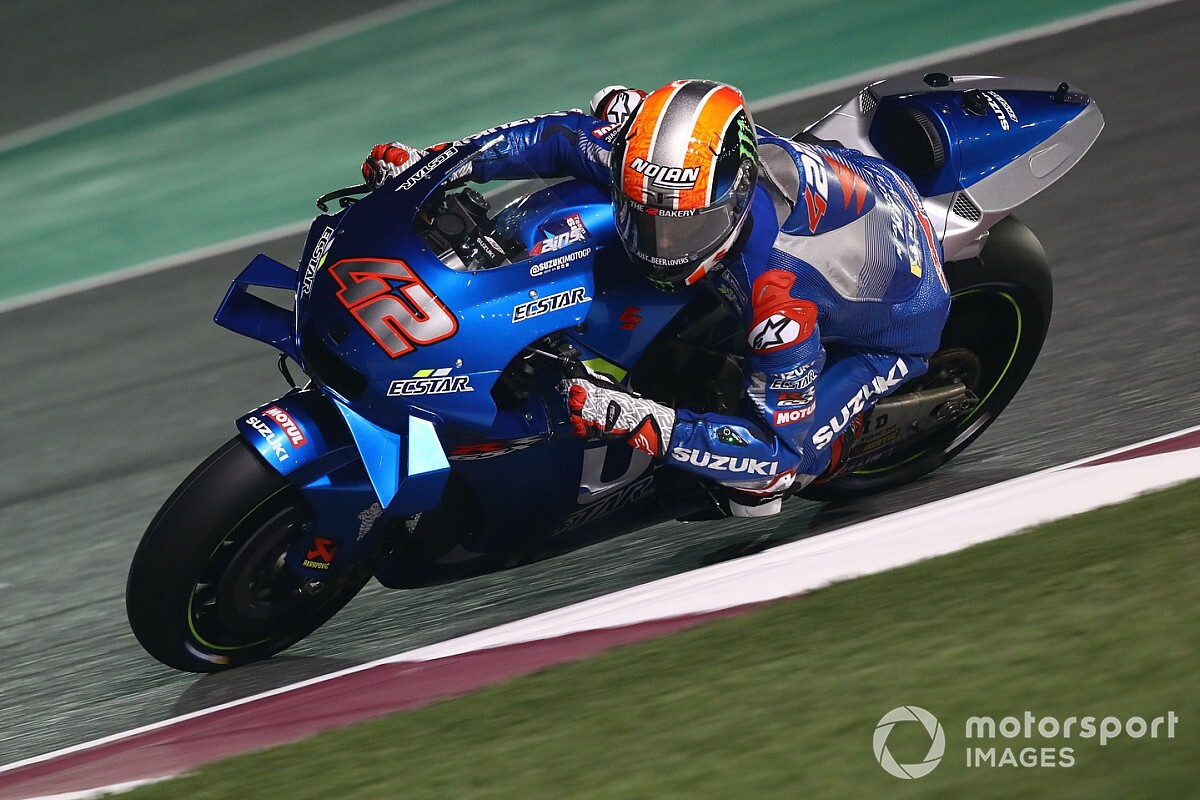 Rins admits Suzuki contract talks began last April