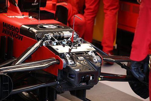 Ferrari tem dispositivo de direção semelhante ao da Mercedes