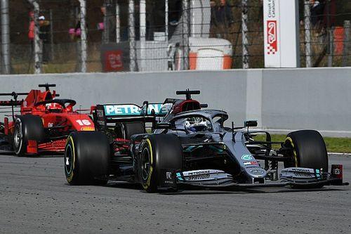 Las estadísticas finales de los test de F1 en Barcelona
