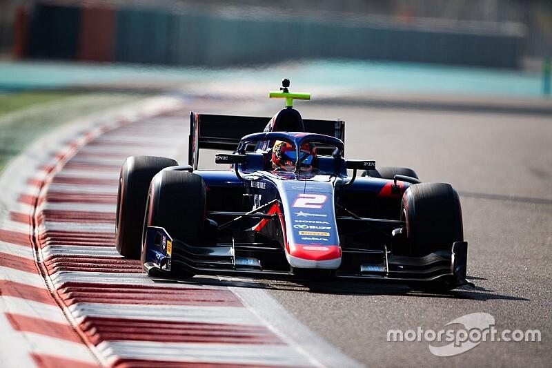F2アブダビテスト初日:デレトラが最速。F2初走行の角田裕毅は16番手